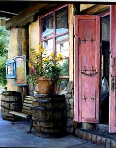Southwestern landscape oil paintings southwest fine art for Paint and wine albuquerque